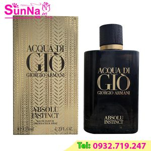 Nước hoa Acqua Di Gio GiorGio Armani Absolu Instinct EDP 75ml