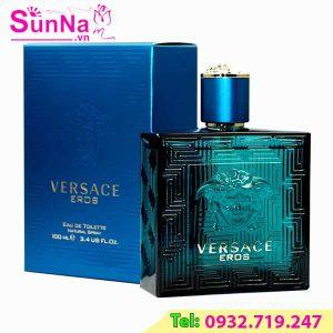 Nước hoa Versace Eros EDT xanh ngọc