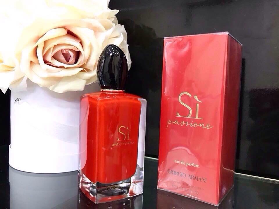Nước hoa Sì Passione - sì đỏ
