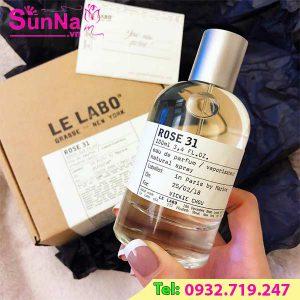 Nước Hoa Le Labo Rose 31 EDP 50ml