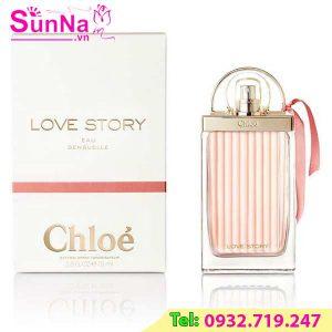 Nước Hoa Chloe Love Story Eau Sensuelle EDP 75ml