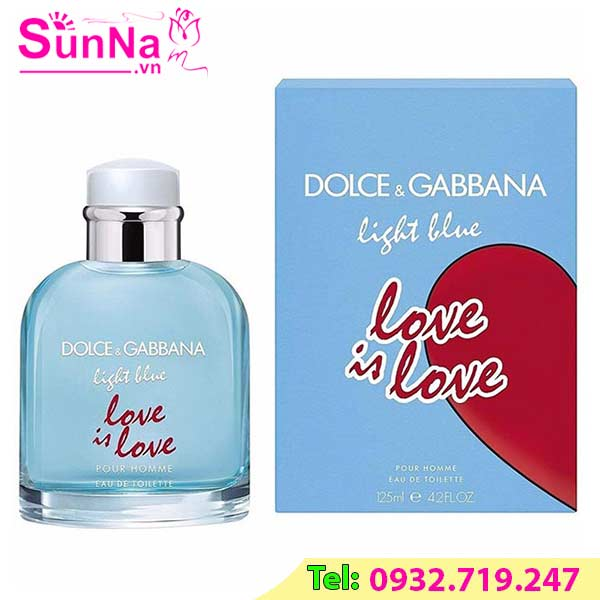 Nước hoa Dolce & Gabbana Light Blue Love Is Love Pour Homme 125ml